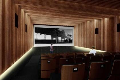 An artist's impression of the new screen planned for the GFT