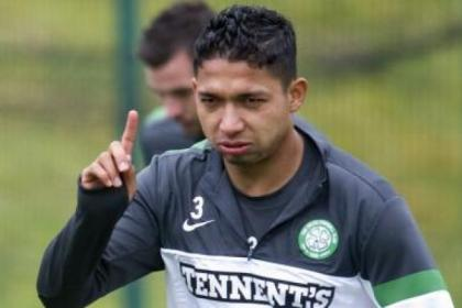 Emilio Izaguirre has recovered from injury ahead of schedule