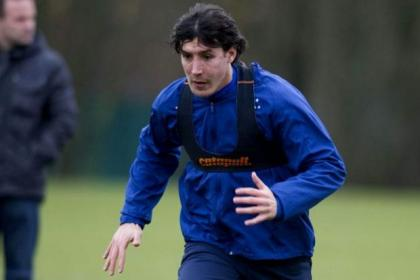 Francisco Sandaza is back in training and is hoping to be included in the squad for the cup tie against Elgin on Sunday