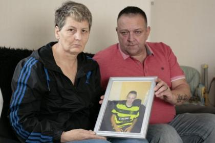 Mark's parents, Suzanne and Paul Nelson, have been left devastated