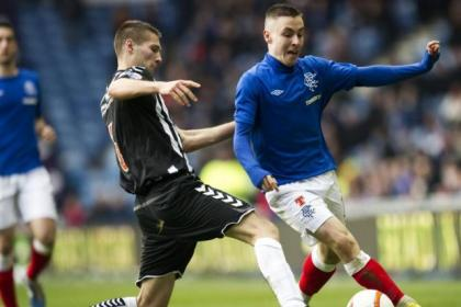 McKay was a shining light for Rangers yesterday