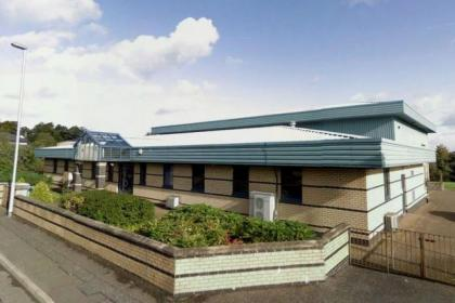 The Iain Nicolson Centre in Moodiesburn may be closed