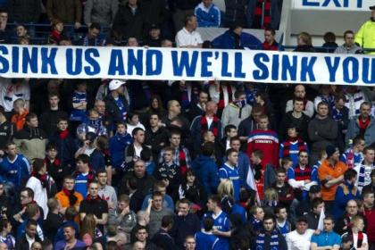 Rangers fans could be staying away from Tayside