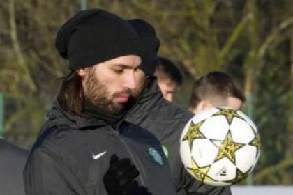 Atta Bhoy...Georgios Samaras has been Celtic's talisman during this season's Champions League adventure