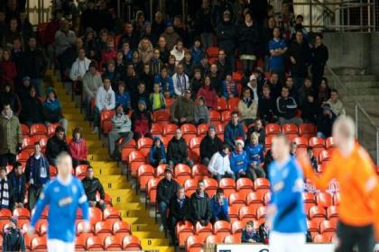 Tannadice won't be filled with Rangers fans in February