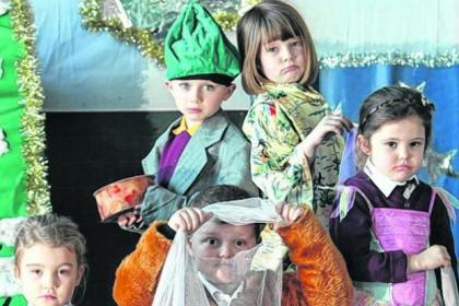 Youngsters are hoping for a festive miracle after their nativity costumes were eaten by mice