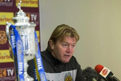 Stuart McCall looks forward to his Motherwell side taking on Aberdeen in tonight's Scottish Cup fourth round replay