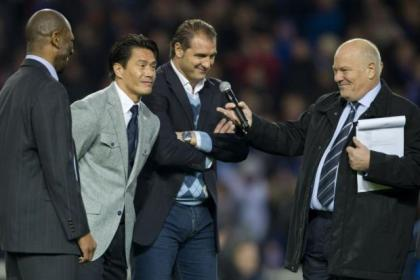 Lorenzo Amoruso stuns Ibrox after telling Andy Gray he's got a ticket for Tannadice in February