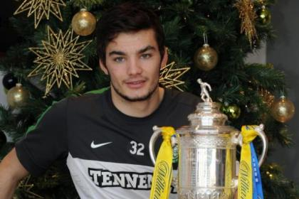 Tony Watt hopes he gets the chance to shine against Arbroath. Picture: Jim Galloway
