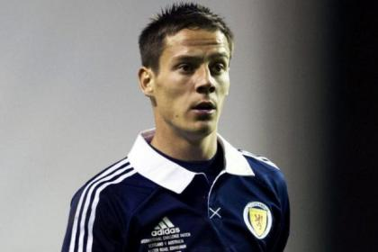 Ian Black wants to wear the dark blue of Scotland again