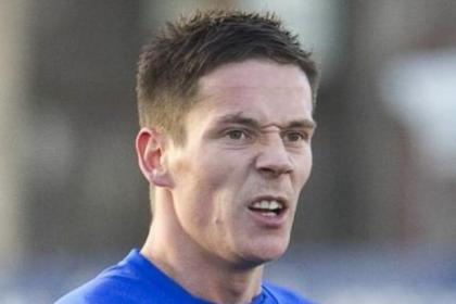 Rangers midfielder Ian Black has one cap for Scotland