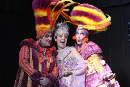 Karen Dunbar delivers a superb performance as the Fairy Godmother in Cinderella at the King's Theatre