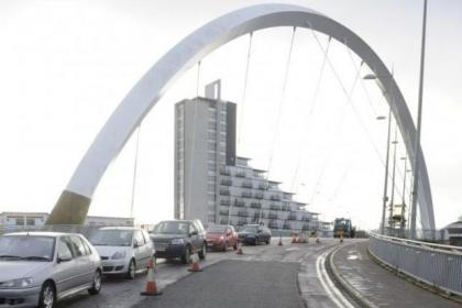nRepairs have been made on the Clyde Arc nHow we reported news of the huge pothole on the Arc