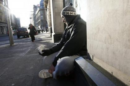 Some homeless people are reduced to begging to get cash, but thousands are helped by being in hostels