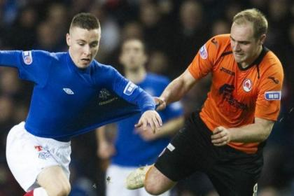 Barrie McKay was outstanding against Clyde