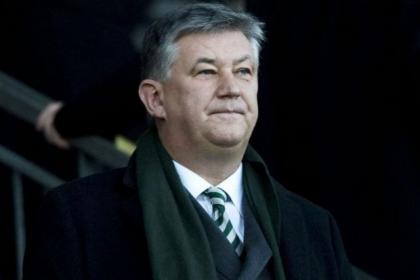 Celtic chief executive, Peter Lawwell