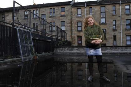 Marieclaire McGuinness on the communal area she intends to turn into a garden