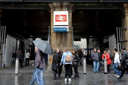 Passengers had a miracle escape after vandals targeted Central Station