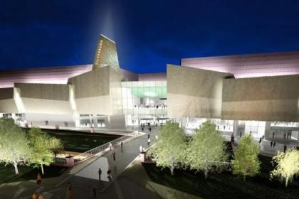 This artist's impression gives shoppers a vision of Silverburn's future