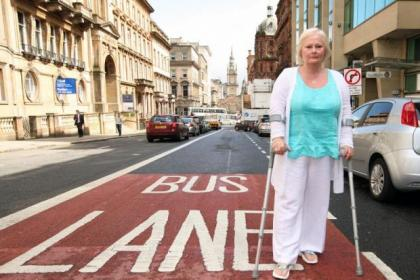 Linda Kinnon says the buslane fines system is unfair