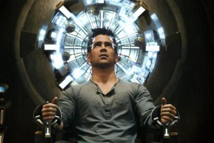n Colin Farrell  stars in the  remake of  Total Recall