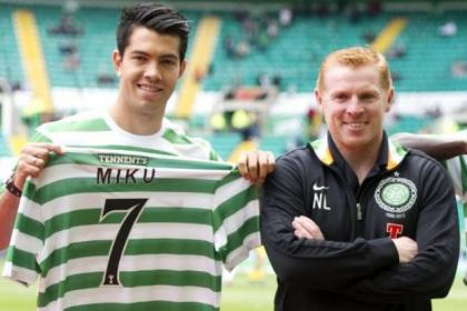 Davie Hay is confident Miku will make an impact at Parkhead