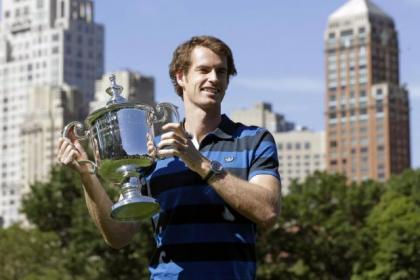 Andy Murray had a packed schedule of appearances in New York after his historic win