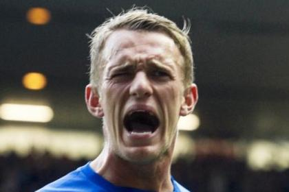 Rangers forward Dean Shiels has welcomed fans' backing