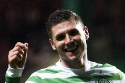Gary Hooper hit all four goals in Celtic's 4-1 win over Raith Rovers