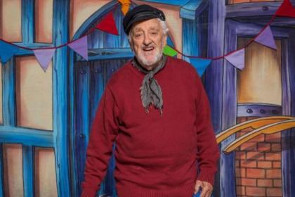 n Bernard Cribbins stars in a new CBBC series, Old Jack's Boat,
