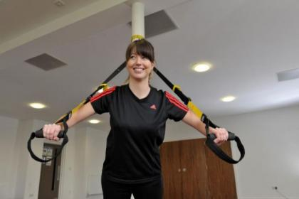 Evening Times reporter Rachel Loxton is put through her paces