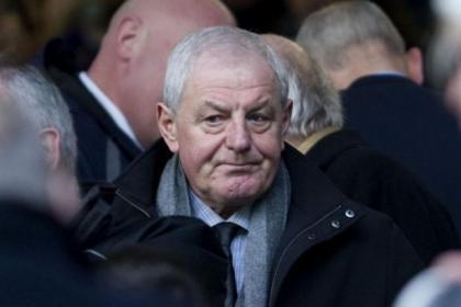 Rangers legend Walter Smithw as in attendance