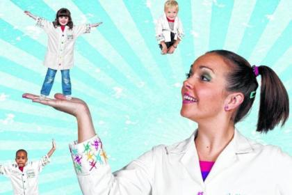 Katrina Bryan is back in bunches as kids' TV boffin Nina