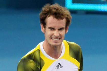 Andy Murray clinched a semi-final place this morning