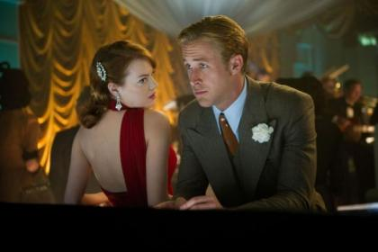 Emma Stone is reunited with her Crazy Stupid Love co-star Ryan Gosling in Gangster Squad