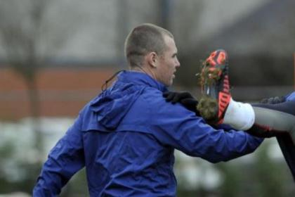 Kenny Miller has been training at Murray Park