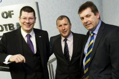 Neil Doncaster, Stewart Regan and David Longmuir are all backing the 12-12-18 proposal
