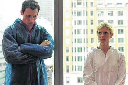 David Caves plays Jack Hodgson alongside Emilia Fox's Nikki Alexander