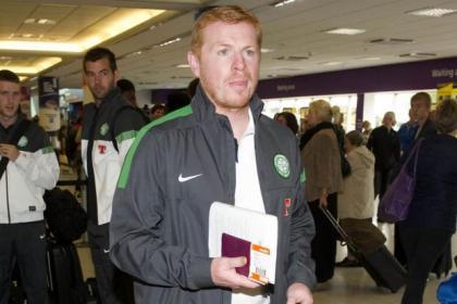 Lennon has yet to arrive in Marbella