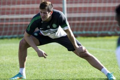 Rami Gershon trained with Celtic in Marbella today