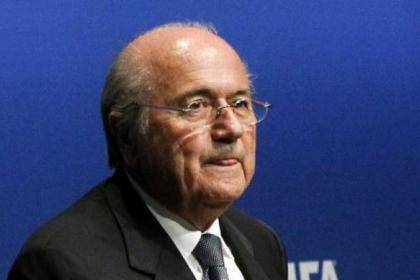n Controversial FIFA president Sepp Blatter