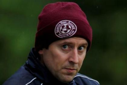 Shotts manager Tony McInally wants his players to live up to their status as cup holders