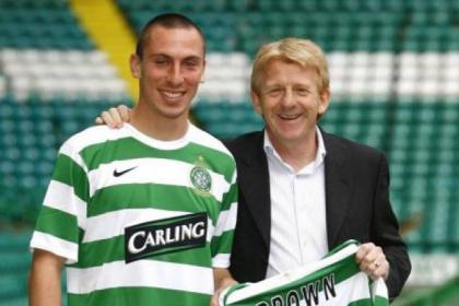 Scott Brown was delighted when Gordon Strachan was appointed