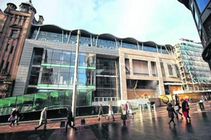 The shopping centre is due to open on March 22
