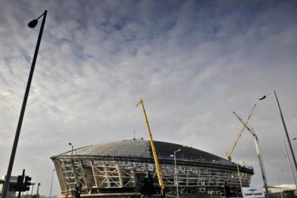 Evening Times photographer Jamie Simpson's stunning shots of the work progressing at The Hydro