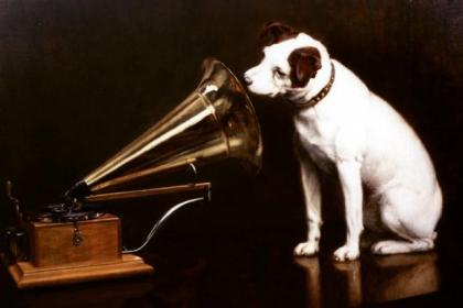 The symbol of little Nipper the dog and gramophone will always have a place in my heart.