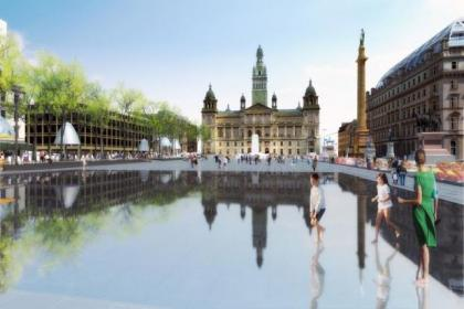 Six design firms are in the running to revamp George Square