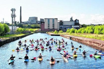 Canoeists already make good use of Pinkston Basin