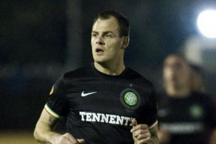 Anthony Stokes returned to action against Steaua Bucharest this week