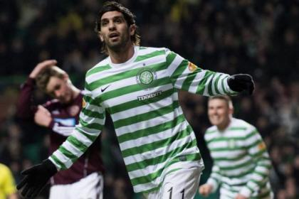 Lassad netted against Hearts at the weekend